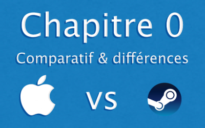 Chapitre 0) Comparatif & différences iOS/Steam